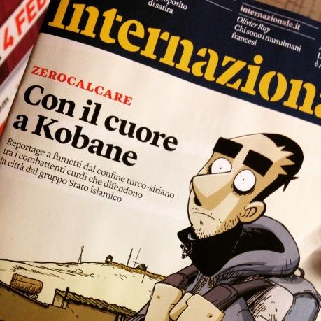 kobane zerocalcare cover